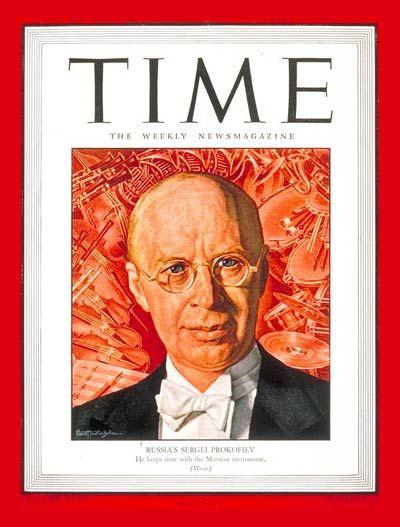 TIME Magazine Cover: Sergei Prokofiev - Nov. 19, 1945 - Composers - Classical Music - Music