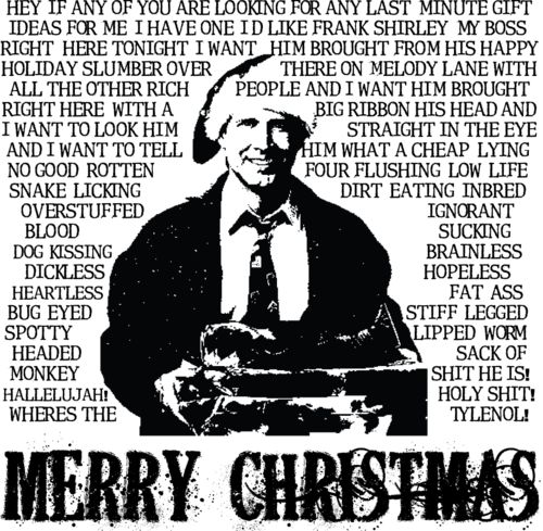 Most Famous Christmas Vacation Quotes: 60 Best Images About Merry Christmas. Shitter Was Full. On