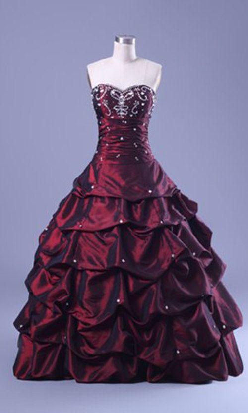 Vintage Layered design strapless long prom dress