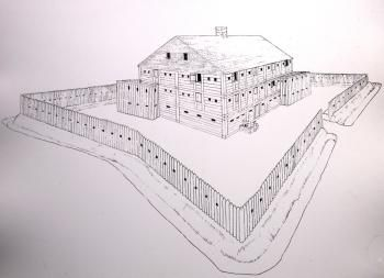 March 10, 1764: Governor Arthur Dobbs consented to a request from the Assembly of North Carolina that all remaining military stores at Fort Dobbs be removed