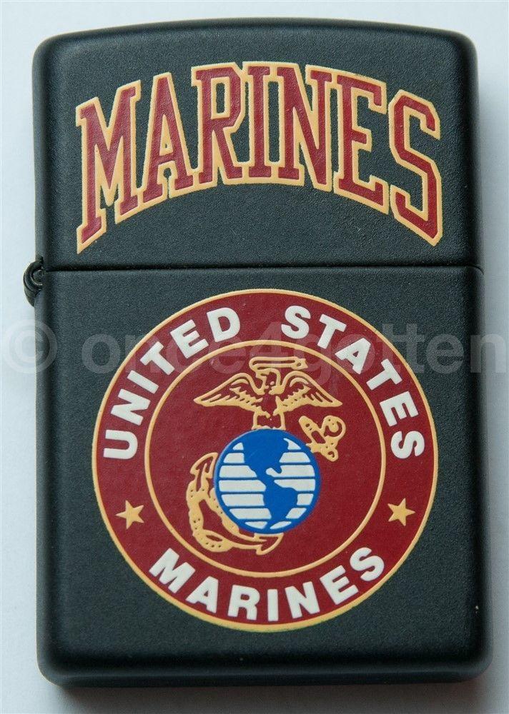 ZIPPO USA Lighter Brand New UNITED STATES US MARINES MARINE | Collectibles, Tobacciana, Lighters | eBay!