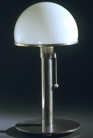 Wagenfeld, Wilhelm - Lamp Bauhaus WA 24