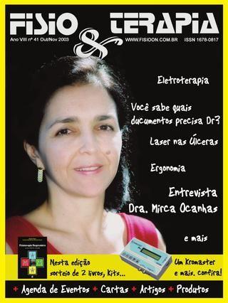 Edição 41 da Revista NovaFisio. Tudo sobre Fisioterapia.