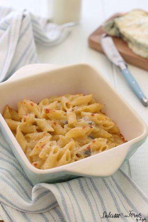 Pasta al forno ai formaggi o Pasta gratinata ai 4 formaggi ricetta Dulcisss in forno by Leyla