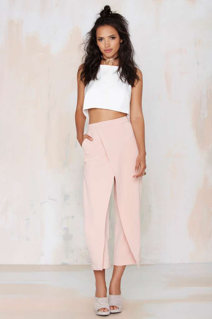 Double Up Layered Trousers - Nasty Gal