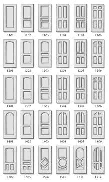 Premium Doors - traditional - interior doors - huntington - Interior Door and Closet Company