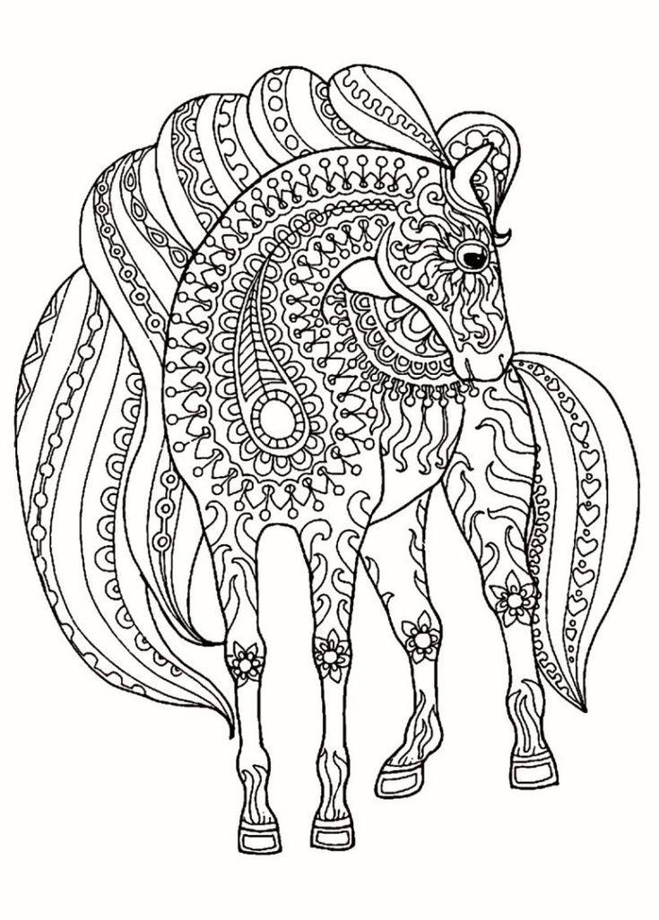 Animal Mandala Coloring Pages Mandala Coloring Pages Pdf Beautiful Gallery Animal Mandala Co Elephant Coloring Page Horse Coloring Pages Mandala Coloring Books