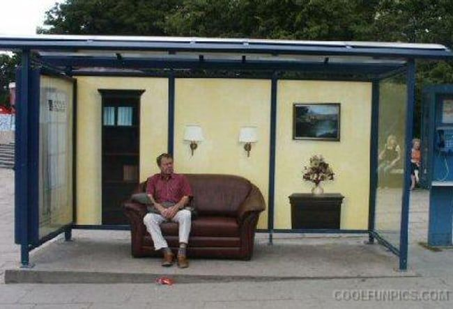The Funniest Bus Stop Photos Ever With Images Bus Stop