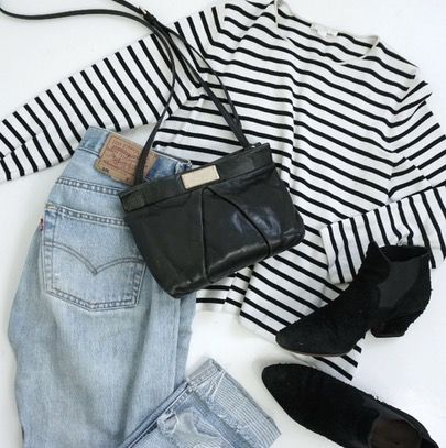 Good old ones! Vintage jeans from Levi's, old top from Cos, bag from Marc Jacobs and secondhand boots from Acne. Find similar products in the 'like to know it' app http://liketk.it/2r8fy #liketkit @liketoknow.it #ootd #outfitoftheday #capsulewardrobe #buyless #choosewell #simple #basics #sparkjoy #minimalism #minimalist #style #fashion #igminimal #scandistyle #scandinaviangirl #stripes #acnestudios #cos #marcjacobs