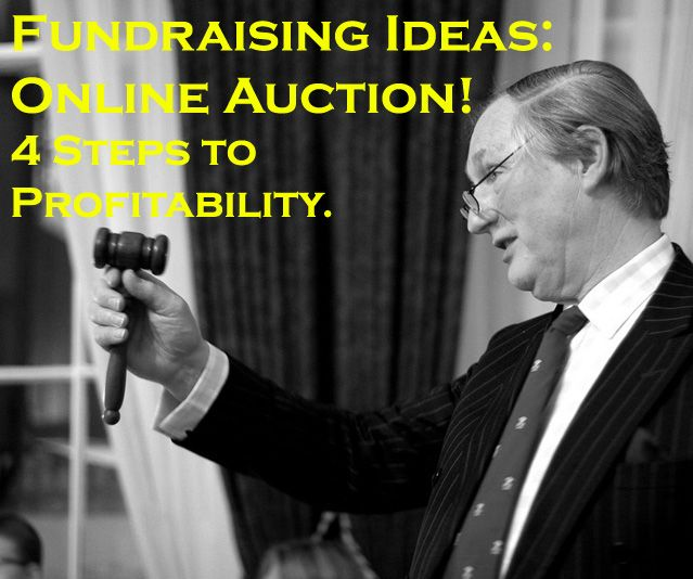 One of the best Fundraising Ideas to use: The Online Auction! Here with 4 steps to profitability -> www.rewarding-fundraising-ideas.com/online-auction-fundraiser.html (Photo by M. Holland / Flickr) | Via @fundraiseideas