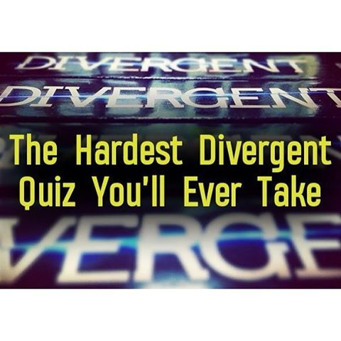 ; Check out @EpicReads Divergent quiz! Link in bio if you want to take it.  Unless you reread the series so many times, like me, it wasn't hard at all. I got a 14/15! I think there was one mistake in the quiz because