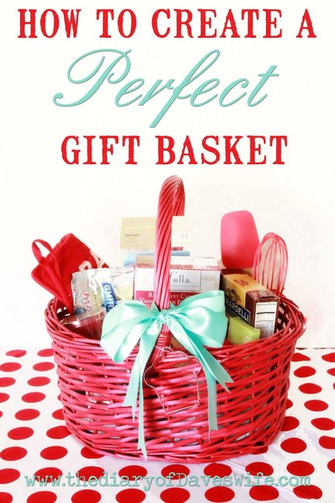 Create The Perfect Gift Basket For Her Diy Valentine