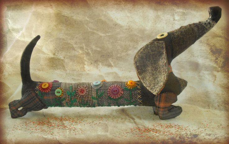 Веселая такса. Автор - Ольга Турченко.