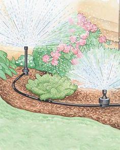 garden sprinkler system