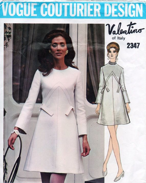 20 besten My Vintage Vogue Patterns Bilder auf Pinterest | Kleidung ...