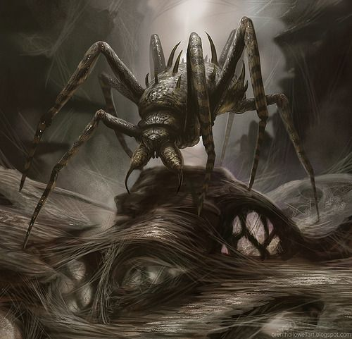 Dark Fantasy Spider Monsters | crawly | Tumblr