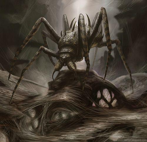 Dark Fantasy Spider Monsters | crawly | Tumblr
