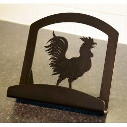 Rooster Cook Book Stand