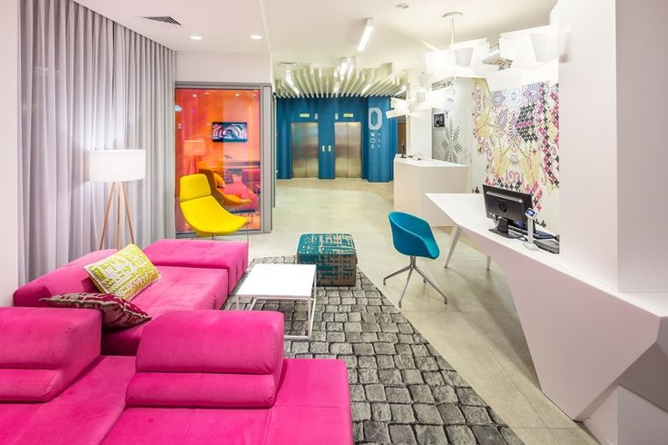 Colorful Ibis Styles Hotel In Ukraine by EC-5 Architects