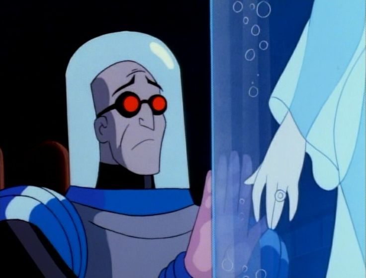 Mr. Freeze and Nora Fries from Batman The Animated Series ...