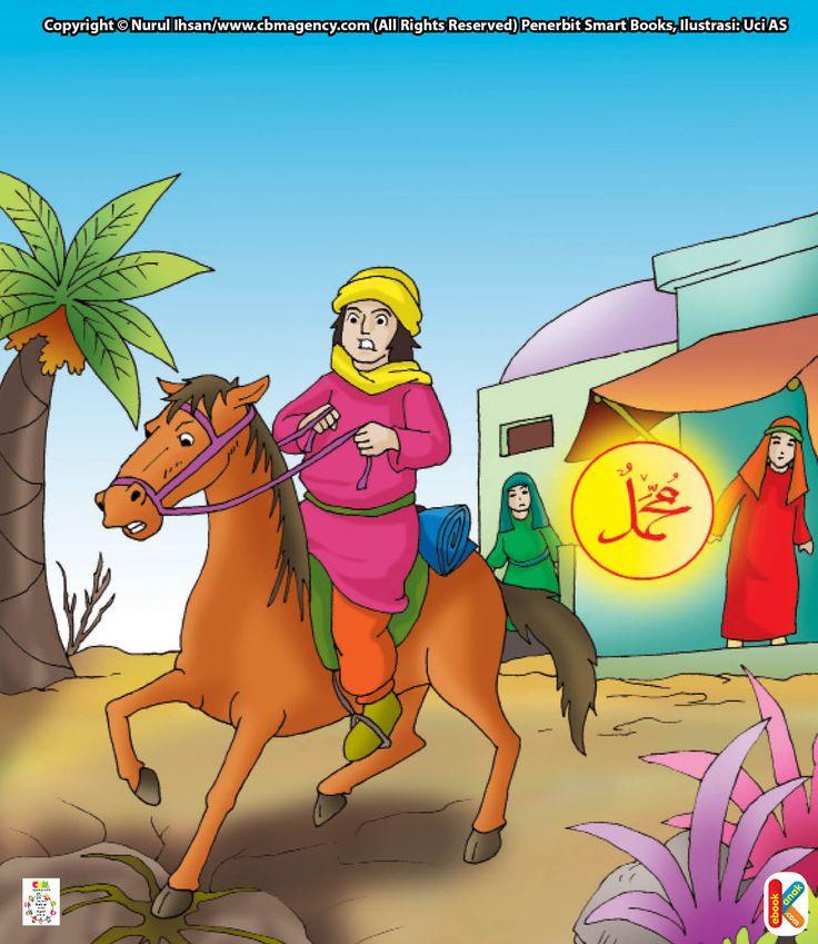 Penunggang Kuda yang Disuapi Malaikat