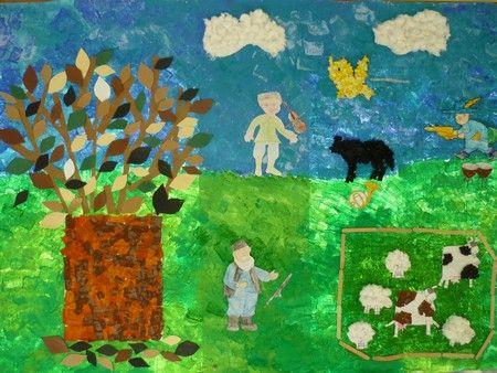 Ecole maternelle Barbier - Moyens-grands : Pierre et le loup