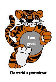 Self Esteem Tiger I Am Great