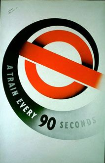 London Underground poster, 1937 