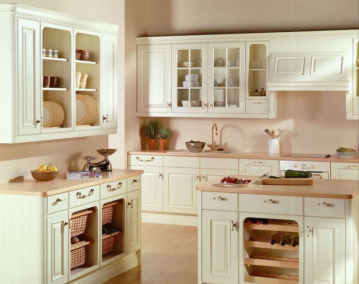 Cream Kitchen Cabinets, Ivory Kitchen, Kitchen Cabinet Paint, Cream Kitchens,  White Kitchens, Kitchen Images, Kitchen Ideas, Traditional Kitchens, Ranges