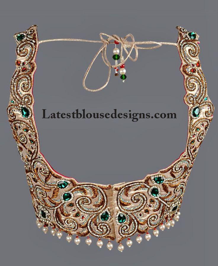 bridal lehenga blouse designs