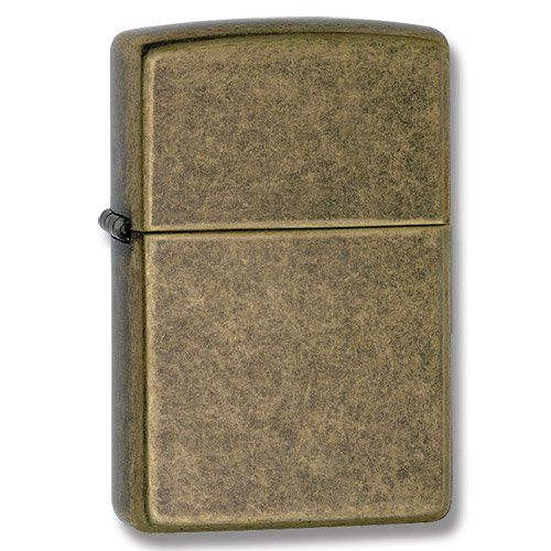 - Distinctive Zippo click - World-famous guarantee - Sturdy metal construction - Made in the USA - Lighter fuel not included