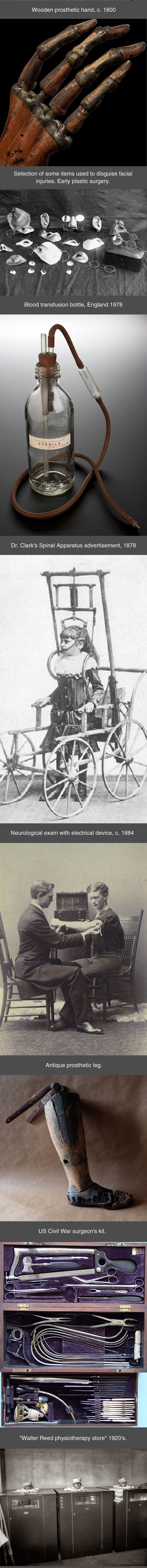 Medical Technology From The Past. See: https://pinterest.com/pin/287386019946064217 & https://pinterest.com/pin/287386019946064215 & https://pinterest.com/pin/287386019948787074 & https://pinterest.com/pin/287386019948281670 & https://pinterest.com/pin/287386019946064224 & https://pinterest.com/pin/287386019945299673