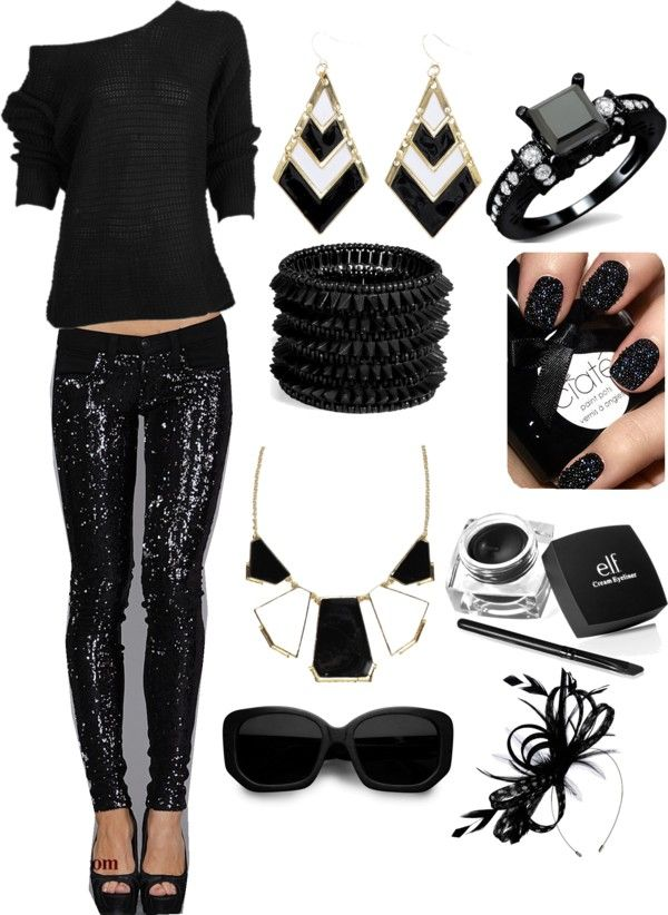 all black party outfit ideas - photo #16