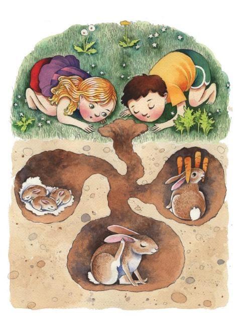 by Kristin Elder Kwan http://www.kristinkwan.com/illustrations/garden2.html