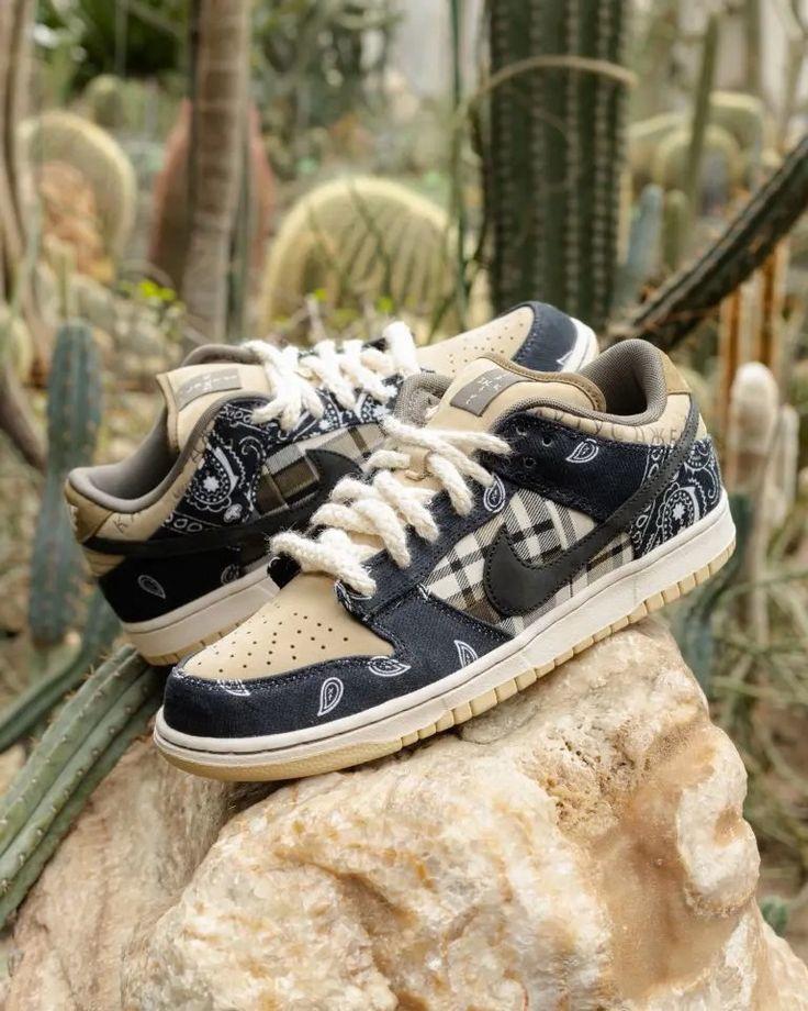 Travis Scott x Nike SB Dunk Low Jackboys | Toutes les chaussures ...