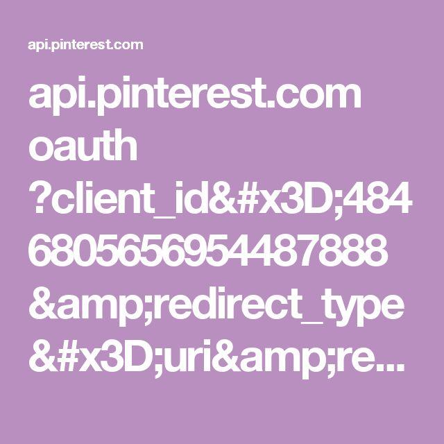 api.pinterest.com oauth ?client_id=4846805656954487888&redirect_type=uri&redirect_uri=https%3A%2F%2Fwww.jamieoliver.com%2Fchristmas%2Fjamies-christmas-pinboard%2F%3Faccess_token%3DAYCwhytdt1hESCllX3KIbKN-h4EWFJzO8EzvlhlDu9felOA0vgAAAAA&response_type=token&scope=read_public%2Cwrite_public