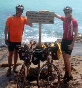 Cycling to the northernmost tip of mainland Australia on the Australian Bicycle Route Project's 5,000km GDR Route. http://cycletraveller.com.au/australia/trip-blog/the-gdr-adventure-starts-in-paradise