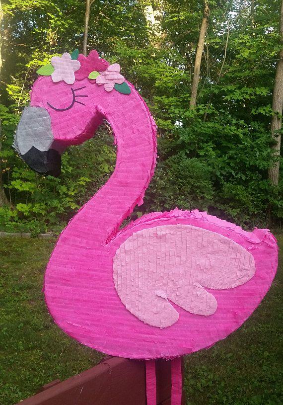 Flamingo Luau Hawaiian Boho Bridal Girl Baby Birthday ...