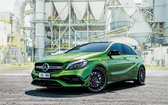 Mercedes-Benz A-class AMG, hatchback, 2017 cars, W176, Mercedes