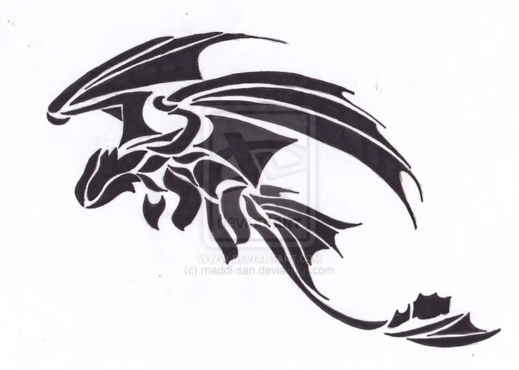 Toothless by ~maddi-san on deviantART