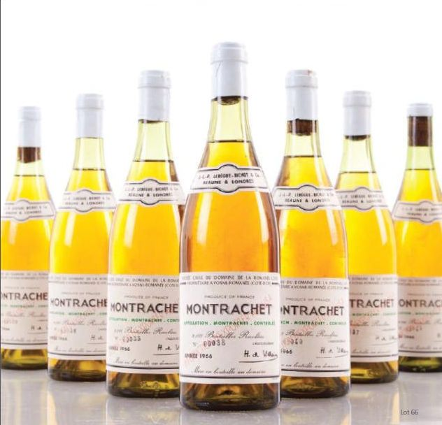 Domaine de la Romanée Conti - Montrachet.  Probably the best of all the white wines of the world. Best vintages are 1978, 2005, 2007 and 2009.