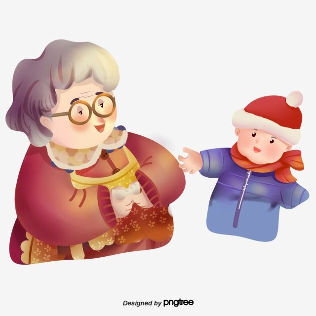 Kind Grandma And Lovely Boy Lovely Grandmother Boy Png Transparent Clipart Image And Psd File For Free Download Cartoon Posters Chibi Boy Cool Cartoons