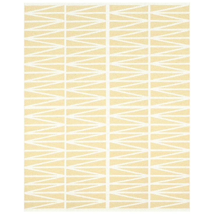 Helmi Matta, Light Yellow 150x200 cm, Brita Sweden. 2500