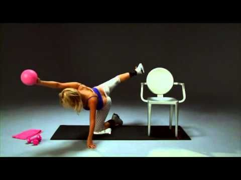 Тренировки от Трейси Андерсон #5 - YouTube