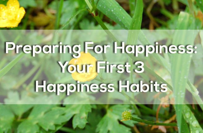 3 habits to integrate into the new year for a happier you.