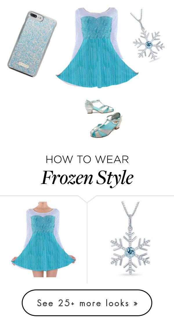 """Frozen"" by hermionejeangranger10 on Polyvore featuring Skinnydip and Disney"
