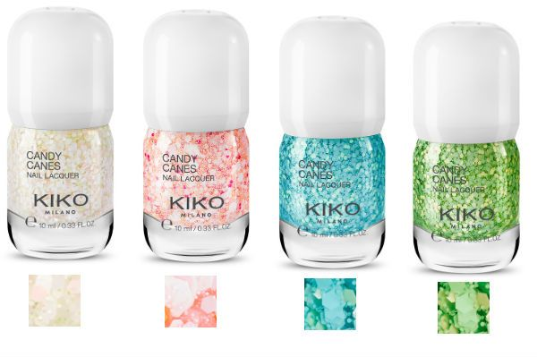 Vernis Kiko Collection Candy Canes