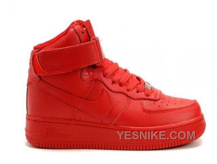 Soldes Endroit Le Moins Cher D'acheter Femme Nike Air Force 1 Mid  Chaussures Varsity Rouge Soldes