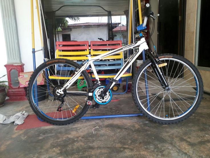 its more better now.spending money to repair hub - rd - some stiker - wide handlebar - bmx stem - old rd for tension - paint   ready to spreading positive vibe