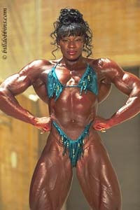 "Lesa Lewis, aka ""Amazon"", is one of the greatest women in size who has competed in bodybuilding. Simply fantastic and addictive."